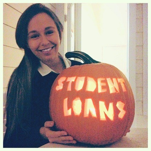 pumpkins student loans halloween funny g rated School of FAIL - 7875879424