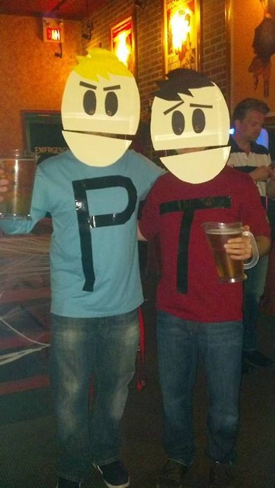 costume,ghoulish geeks,South Park,g rated,poorly dressed