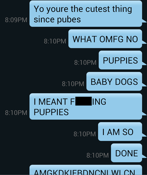autocorrect puppies text AutocoWrecks - 7876150528