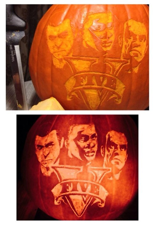 pumpkins,halloween,grand theft auto v