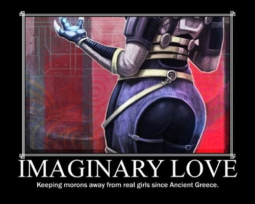 imaginary nerds mass effect love idiots funny - 7876217088