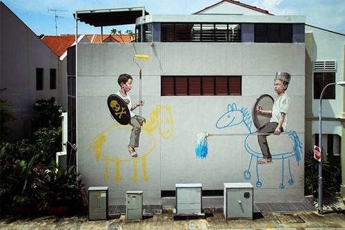 Street Art graffiti hacked irl - 7876227328