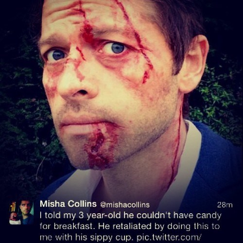 Supernatural,misha collins,celebrity twitter