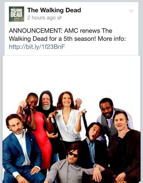 cast renewed The Walking Dead - 7876372224