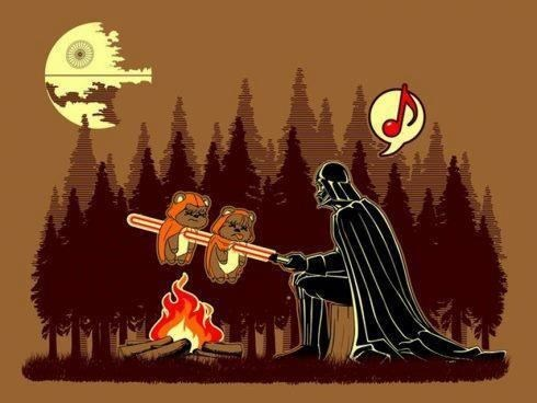 ewoks,star wars,smores