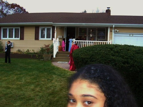 trick or treating photobomb kids halloween - 7876420864