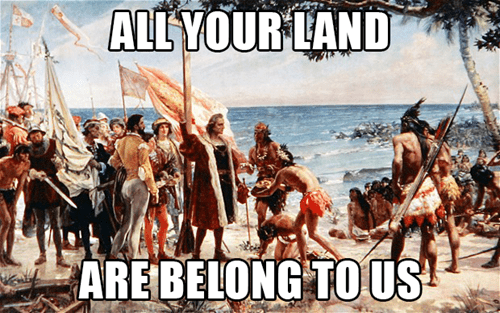 native americans scumbag settlers - 7876458240
