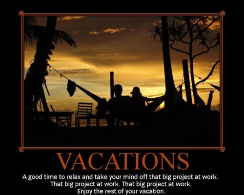 work jerks funny vacation - 7876465408