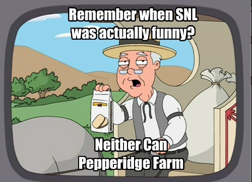 It was before Pepperidge Farm's time.