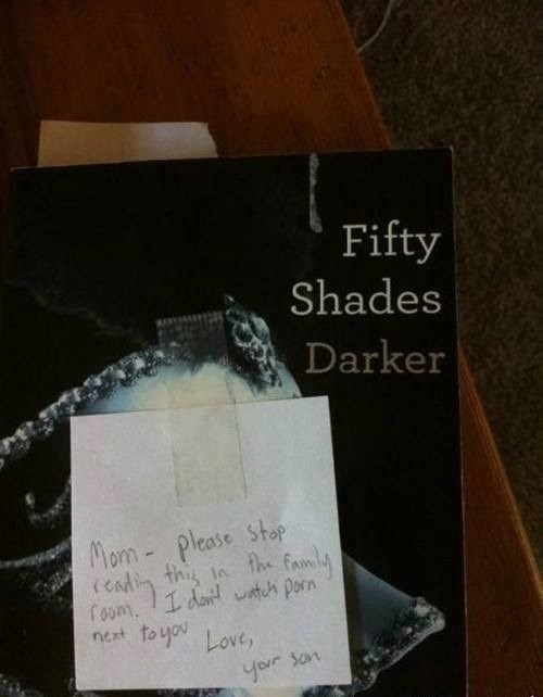 books,pr0n,fifty shades of gray,funny