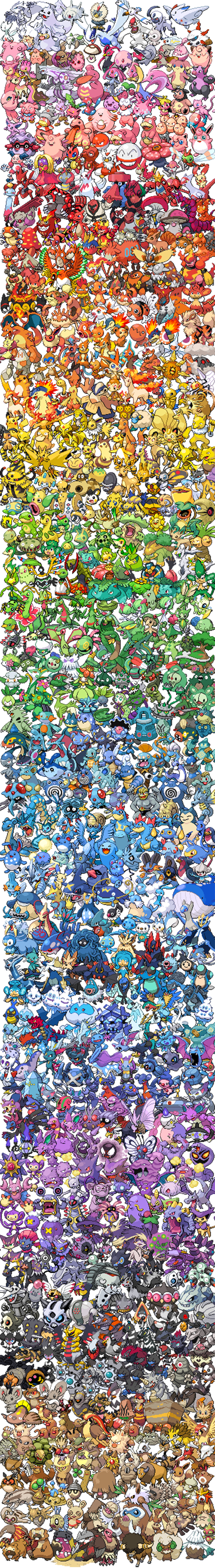 Pokémon,colors