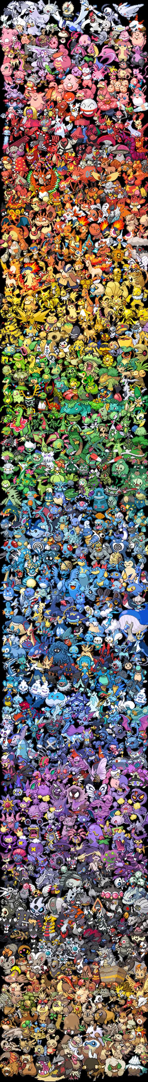 Pokémon colors - 7876567296