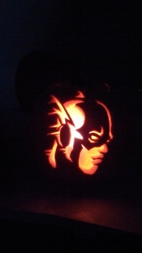ghoulish geeks jack o lanterns g rated superheroes the flash - 7876777472