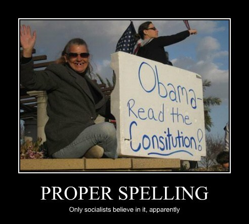 socialists sign Protest constitution spelling - 7877476608