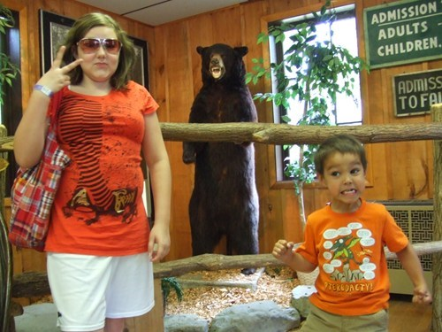 photobomb,kids,bears