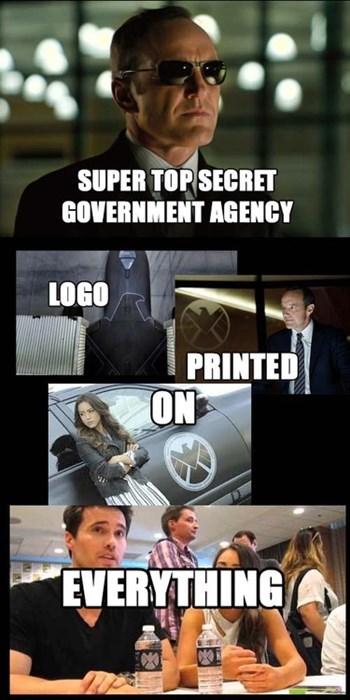 logo agents of shield - 7877605376