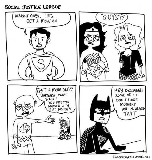 politically correct justice league batman superman - 7877616896