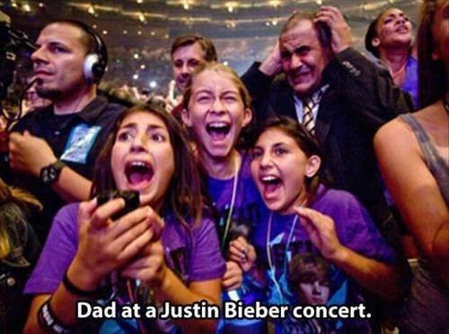 headache,justien bieber,dad