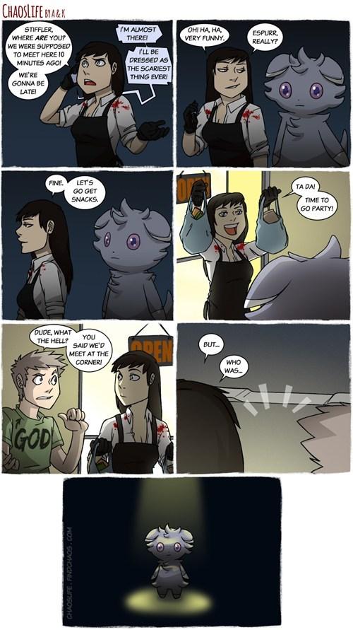 Pokémon,espurr,web comics