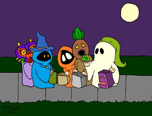 halloween charlie brown zelda - 7877773568