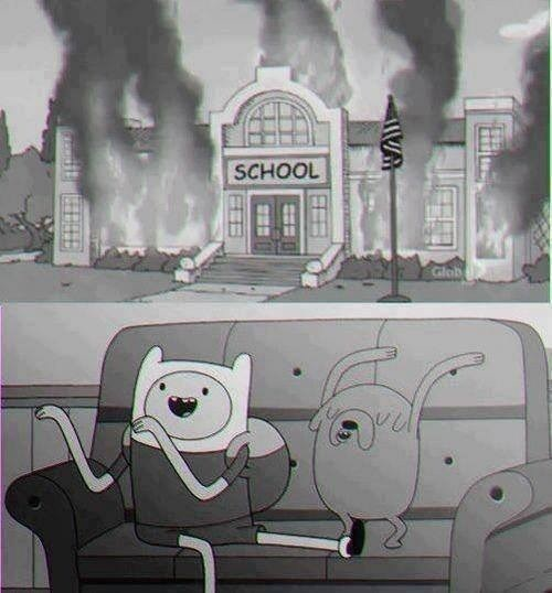 school,cartoons,funny,adventure time