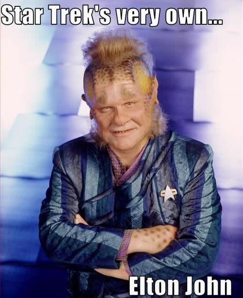 voyager elton john Star Trek neelix - 7877861888