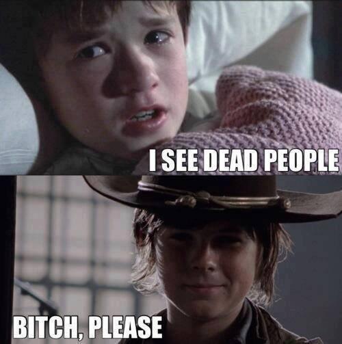 carl grimes The Walking Dead - 7877867264