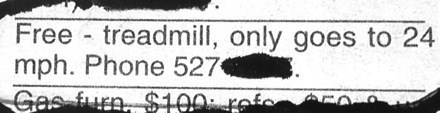 news classified ad funny - 7877876992