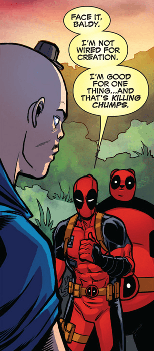 killing deadpool chumps off the page - 7877939968