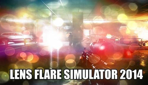 lens flare,battlefield