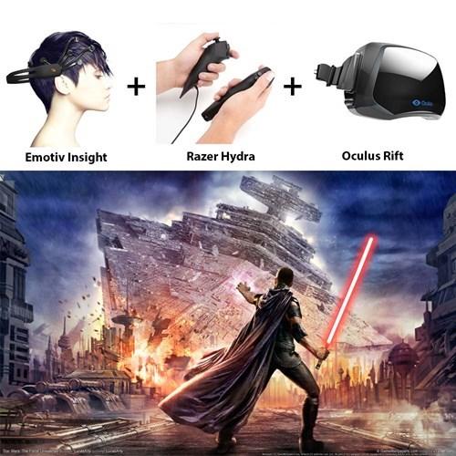 razer hydra star wars oculus rift - 7877985280