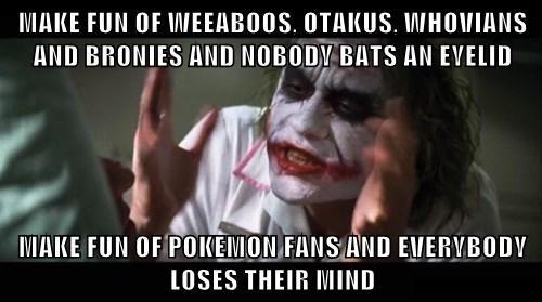 Pokémon fandom Memes joker mind loss get over it - 7878026496