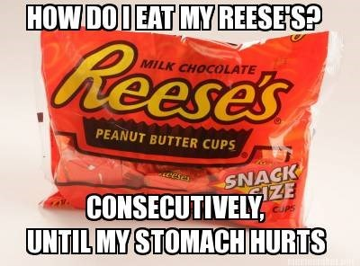 candy halloween reeses hallowmeme g rated - 7878028544