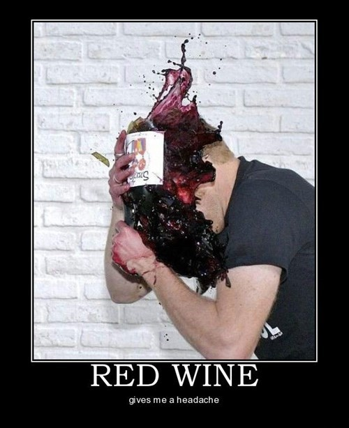 bottle headache smash wine funny