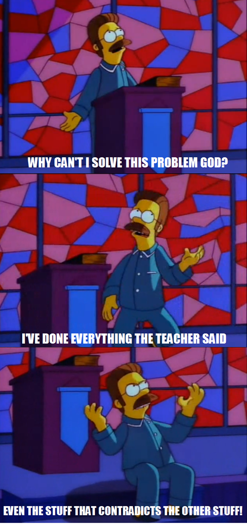 math class,the simpsons
