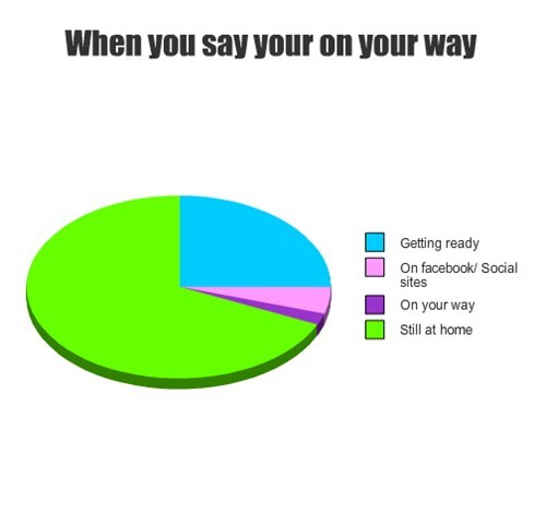 lies on my way Pie Chart - 7878571520