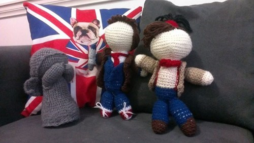 crochet doctor who DIY - 7878616064