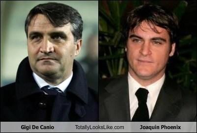 gigi de canio,Joaquin Phoenix,totally looks like,funny