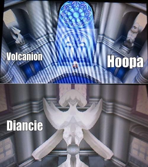 volcanion diancie hoopa - 7879251456