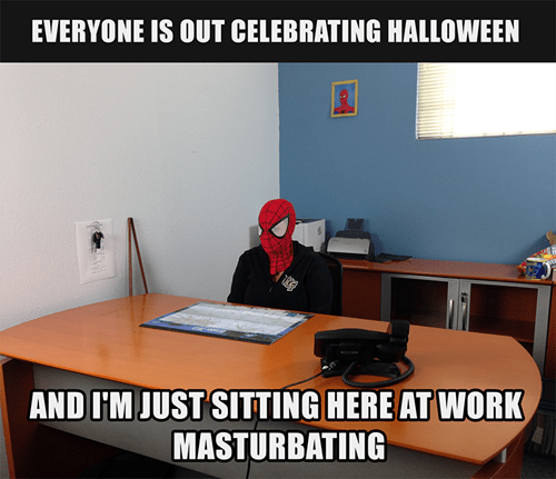 costume Spider-Man halloween Memes hallowmeme - 7879329536