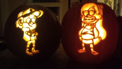 jack o lanterns gravity falls cartoons - 7879380992
