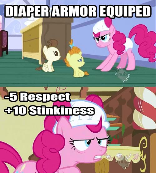 pinkie pie pony armor not epic - 7879397888