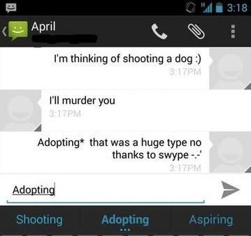 swype autocorrect text - 7879498496