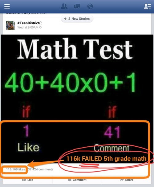 chain statuses,math is hard,math