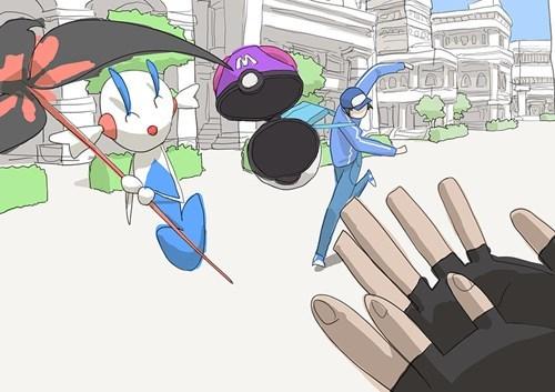 Pokémon art trolling AZ - 7879583744