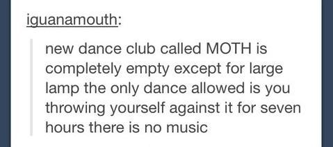 lamps,clubs,party hard,moth