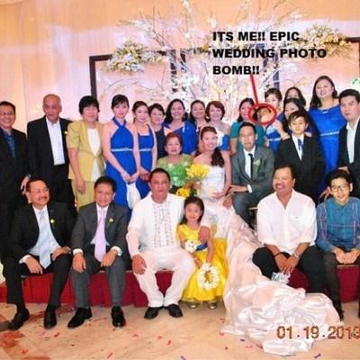 photobomb weddings - 7879606272