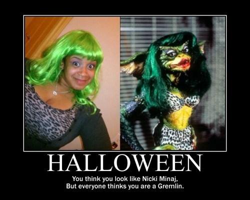 costume,halloween,gremlins,nicki minaj,funny