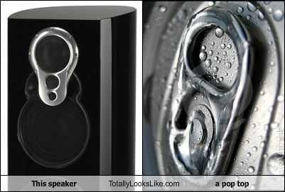 pop tops speakers where i'm from we call them soda tabs totally looks like funny - 7879688448