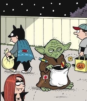 candy the force comic yoda